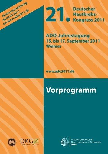 Vorprogramm - ADO