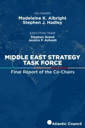 MIDDLE EAST STRATEGY TASK FORCE