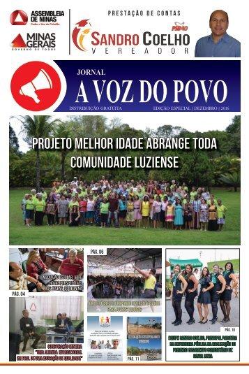 Prestação de Contas Vereador Sandro Coelho