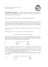 Partial Differential Equations — Combined e¤ects in quasilinear ...