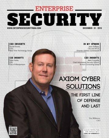 Axiom Cyber Solutions December 2016