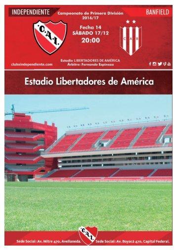Revista Oficial de la Secretaria de Prensa y Difusión del Club Atlético Independiente