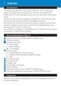 Philips SalonDry Pro Sèche-cheveux - Mode d'emploi - ZHS - Page 6