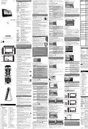 Philips Lecteur de DVD portable - Mode d'emploi - ENG