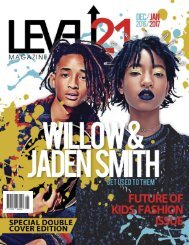 Kids Issue Double cover with willow and Jaden Smith