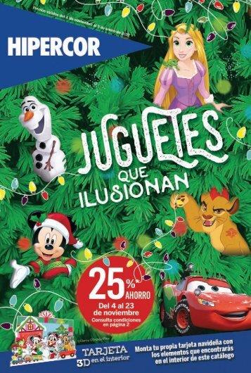 Hipercor juguetes catálogo Navidad 2016