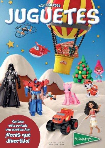 El Corte Inglés juguetes catálogo Navidad 2016