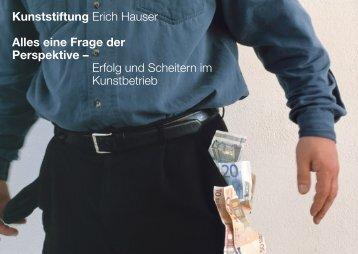 Kunststiftung Erich Hauser Alles eine Frage der Perspektive – Erfolg ...