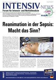 01 Reanimation in der Sepsis