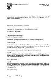 Stipendien der Kunststiftung des Landes Sachsen-Anhalt