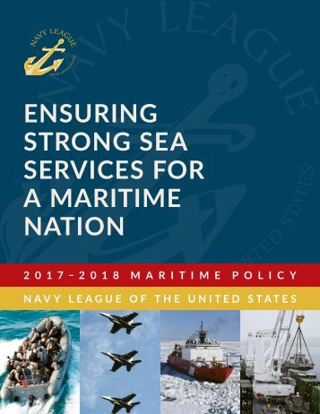 ENSURING STRONG SEA SERVICES FOR A MARITIME NATION