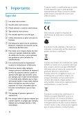 Philips Caméra HD - Mode d'emploi - ESP - Page 4