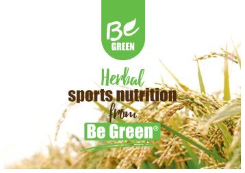 Be Green Story