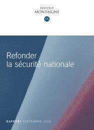 la sécurité nationale
