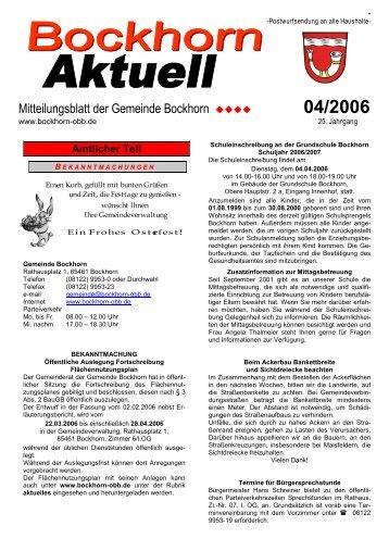 04/2006 - Bockhorn