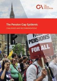 The Pension Gap Epidemic