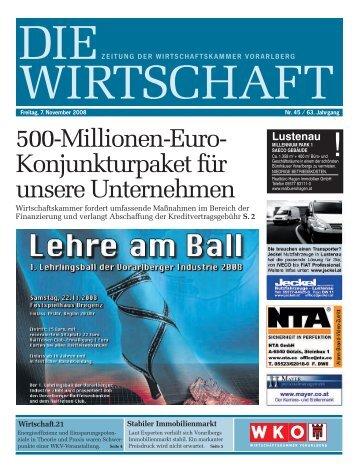 DIWI 45-1-08.qxd - Wirtschaftskammer Vorarlberg