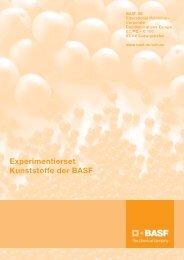 Experimentierset Kunststoffe der BASF - BASF.com