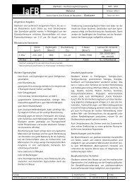 M.01 Glasfasern - Institut für angewandte Forschung im Bauwesen eV