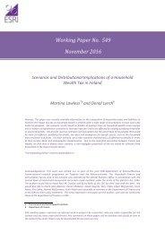 Working Paper No 549 November 2016
