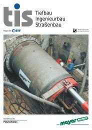 Tiefbau Ingenieurbau Straßenbau - Meyer Rohr + Schacht GmbH