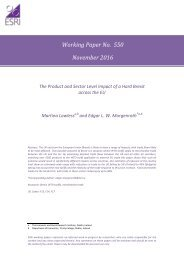 Working Paper No 550 November 2016