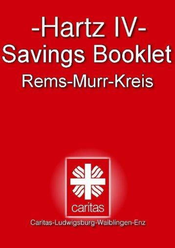Hartz4 savings booklet