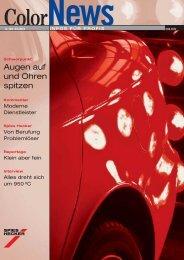 Augen auf und Ohren spitzen - Spies Hecker GmbH