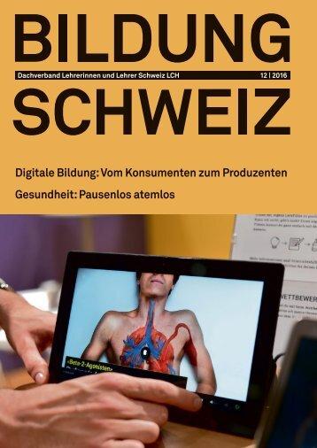 Digitale Bildung:Vom Konsumenten zum Produzenten Gesundheit Pausenlos atemlos