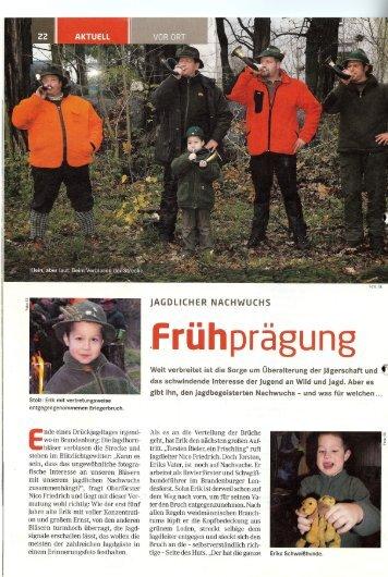nde eines Drückjagdtages irgend wo in Brandenburg: Die Iagdhorn
