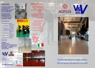 2015 BROCHURE APSECRETE & APSECRETE DECO SYSTEMS light ITA - ENG