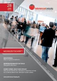 Jobmesse Leipzig- Messezeitschrift Frühjahr 2017
