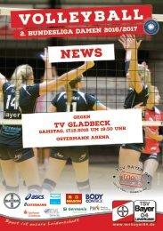 Spieltagsnews Nr. 05 gegen TV Gladbeck