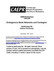 Endogenous Bank Networks and Contagion
