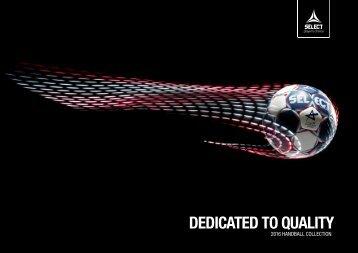 SELECT Handball Catalogue 2016