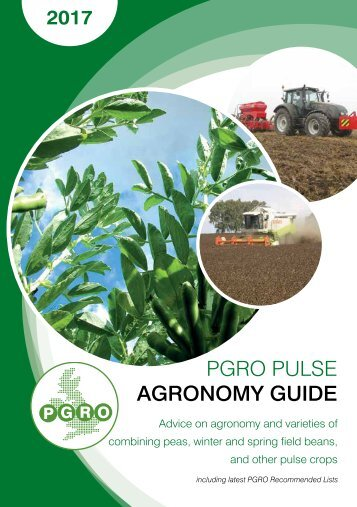 PGRO PULSE AGRONOMY GUIDE