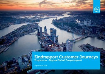 Eindrapport Customer Journeys