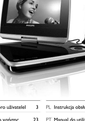 Philips Lecteur de DVD portable - Mode d'emploi - CES