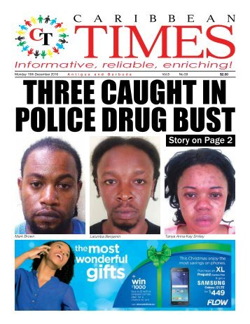 Caribbean Times 59th Issue - Monday 19th December 2016