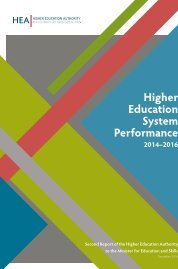 Higher Education System Performance