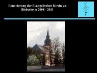 Spenderinnen und Spender - bei der Evangelischen ...