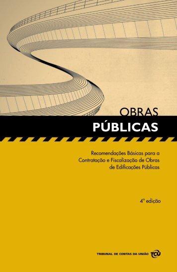 MANUAL DE OBRAS PÚBLICAS - TCU