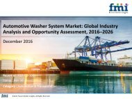 Automotive Washer System Market