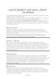 Lederhosenkarte Winter 2016-2017