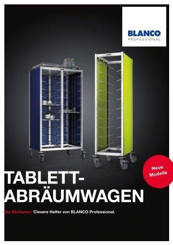 Tablett Abräumwagen