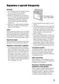 Sony DSLR-A500 - DSLR-A500 Istruzioni per l'uso Croato - Page 7