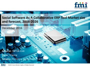 Social Software As A Collaborative ERP Tool Market size and forecast, 2016-2026