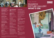 Dulwich Picture Gallery - What's On - Jan-Apr 2017