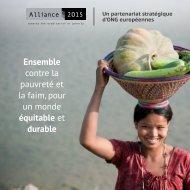 contre la pauvreté et la faim pour un monde équitable et durable