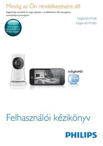 Philips Système de surveillance HD sans fil In.Sight - Mode d'emploi - HUN